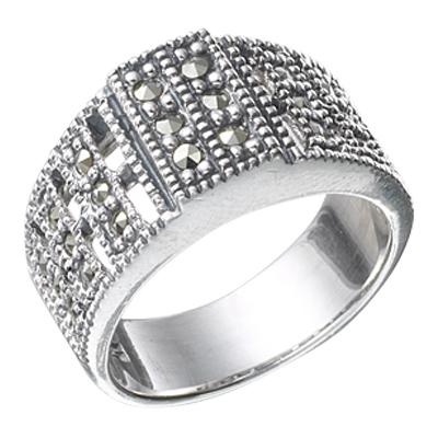 Marcasite jewelry ring HR0359 1
