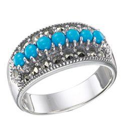Marcasite jewelry ring HR0365 1