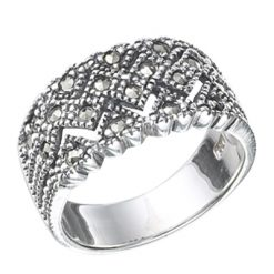 Marcasite jewelry ring HR0368 1