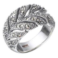 Marcasite jewelry ring HR0371 1