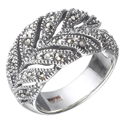 Marcasite jewelry ring HR0371 1