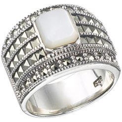 Marcasite jewelry ring HR0377 1