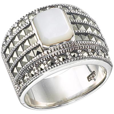 Marcasite jewelry ring HR0377 1