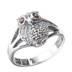 Marcasite jewelry ring HR0382 1