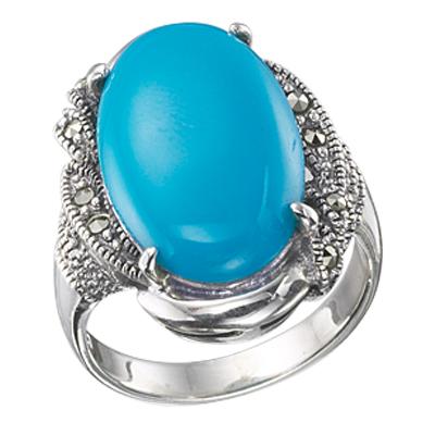 Marcasite jewelry ring HR0384 1