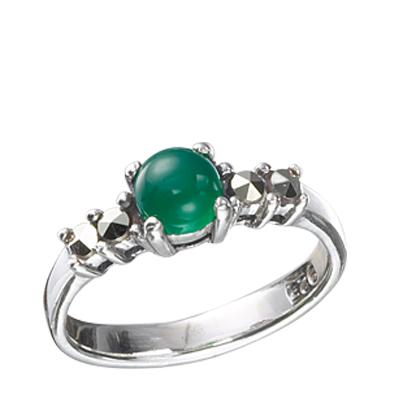 Marcasite jewelry ring HR0395 1