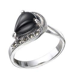 Marcasite jewelry ring HR0396 1