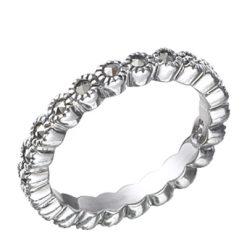 Marcasite jewelry ring HR0397 1