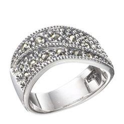 Marcasite jewelry ring HR0406 1