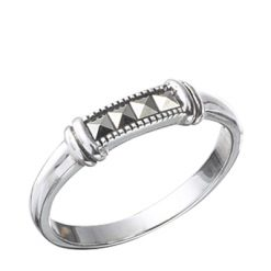 Marcasite jewelry ring HR0412 1