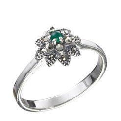 Marcasite jewelry ring HR0413 1