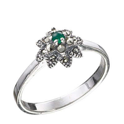 Marcasite jewelry ring HR0413 1