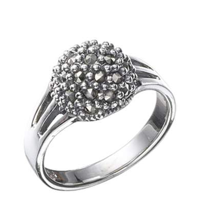 Marcasite jewelry ring HR0417 1