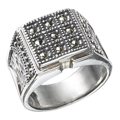 Marcasite jewelry ring HR0419 1