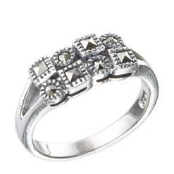Marcasite jewelry ring HR0422 1