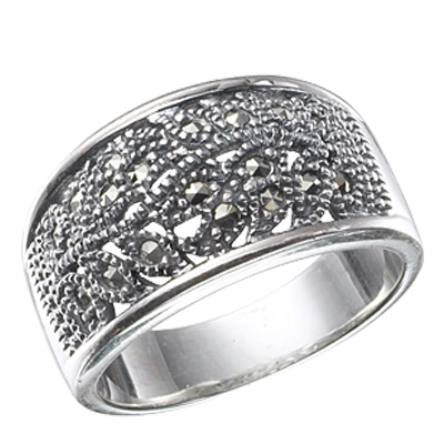 Marcasite jewelry ring HR0427 1