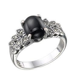 Marcasite jewelry ring HR0440 1