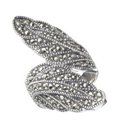Marcasite jewelry ring HR0441 1