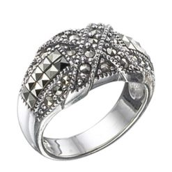 Marcasite jewelry ring HR0443 1