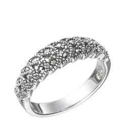 Marcasite jewelry ring HR0455 1