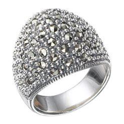Marcasite jewelry ring HR0458 1