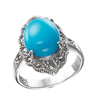 Marcasite jewelry ring HR0459 1