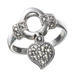 Marcasite jewelry ring HR0460 1
