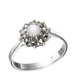 Marcasite jewelry ring HR0461 1
