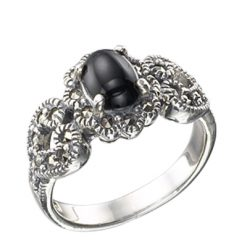 Marcasite jewelry ring HR0463 1