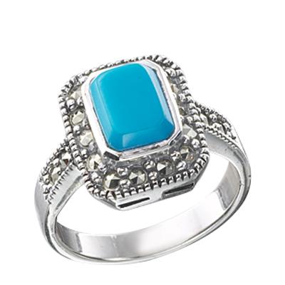 Marcasite jewelry ring HR0465 1