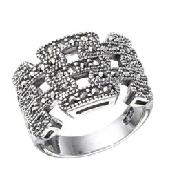 Marcasite jewelry ring HR0466 1