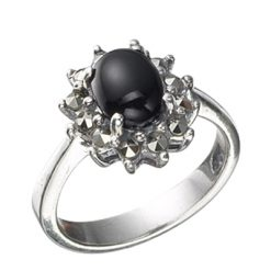 Marcasite jewelry ring HR0467 1
