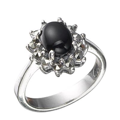 Marcasite jewelry ring HR0467 1