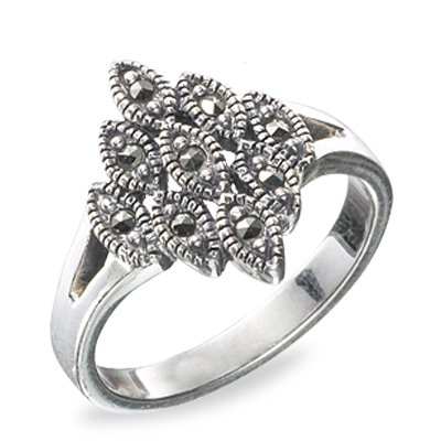 Marcasite jewelry ring HR0475 1