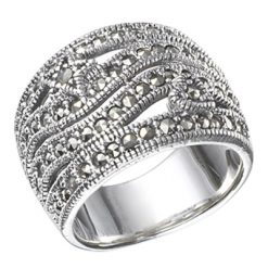 Marcasite jewelry ring HR0480 1