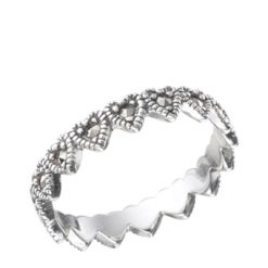 Marcasite jewelry ring HR0484 1