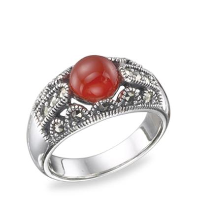 Marcasite jewelry ring HR0490 1