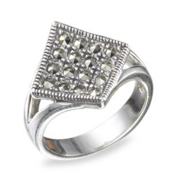 Marcasite jewelry ring HR0491 1