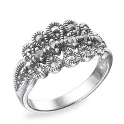 Marcasite jewelry ring HR0494 1