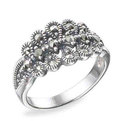 Marcasite jewelry ring HR0494 1