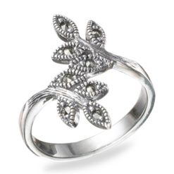 Marcasite jewelry ring HR0495 1