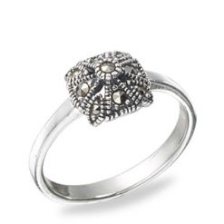 Marcasite jewelry ring HR0505 1