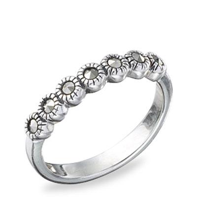 Marcasite jewelry ring HR0510 1