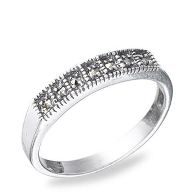 Marcasite jewelry ring HR0512 1