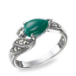 Marcasite jewelry ring HR0521 1