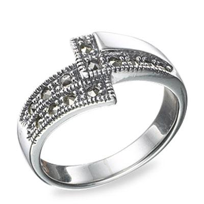 Marcasite jewelry ring HR0522 1