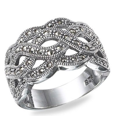 Marcasite jewelry ring HR0524 1
