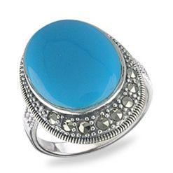 Marcasite jewelry ring HR0560 1