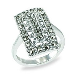 Marcasite jewelry ring HR0566 1