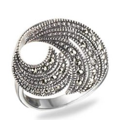 Marcasite jewelry ring HR0569 1